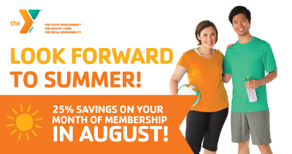 How to Save 25% On Your Membership in August