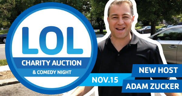 General Admission Tickets Open August 31 for 8th Annual Laugh Out Loud Charity Auction & Comedy Event
