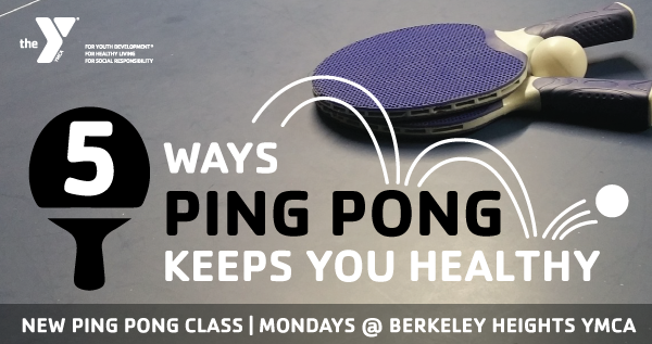 5 Ways Ping Pong Keeps You Healthy