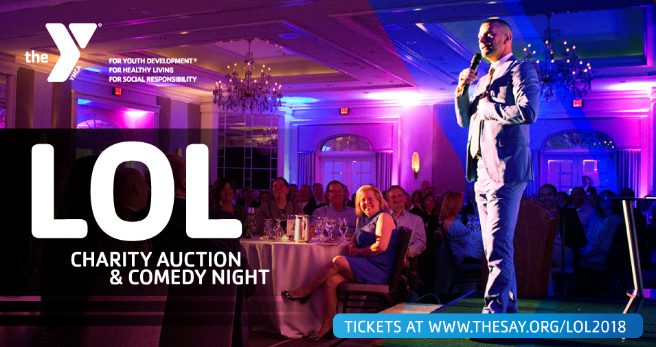 7th Annual Laugh Out Loud Charity Auction & Comedy Show to Support Summit Area YMCA Programs