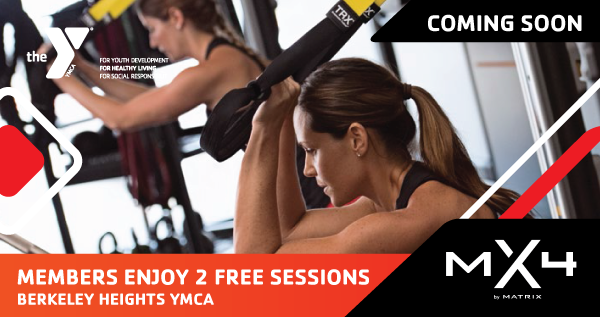 Train Like Never Before with MX4 at the New Berkeley Heights YMCA