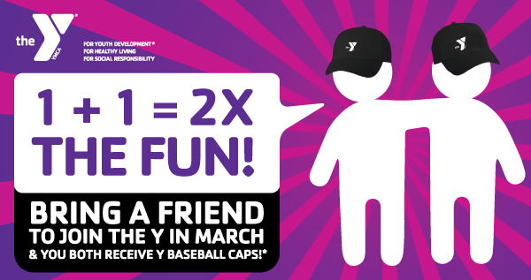 Free Y Baseball Caps For You & a Friend!