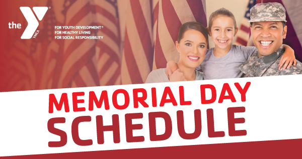 Memorial Day Special Group Exercise Schedule