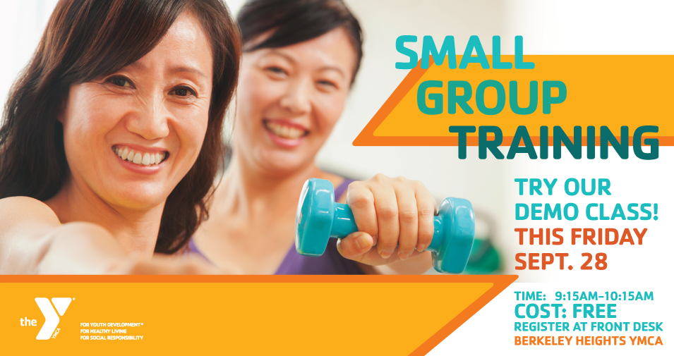 Free Small Group Training Demo Class at Berkeley Heights YMCA