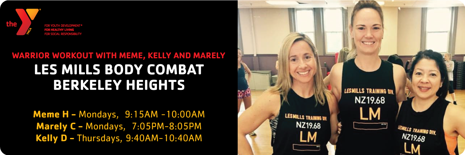 Go Warrior, BodyCombat with Meme, Kelly and Marely!