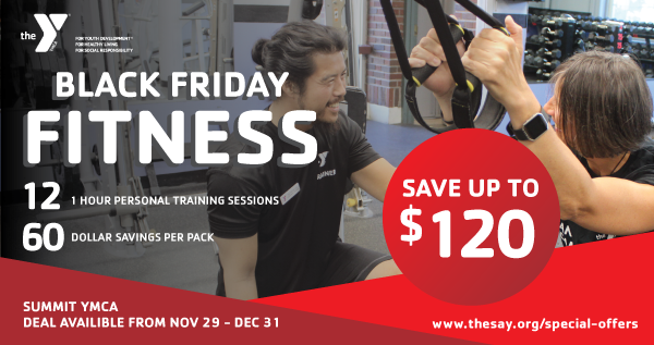 Black Friday Fitness Deal at the Summit YMCA