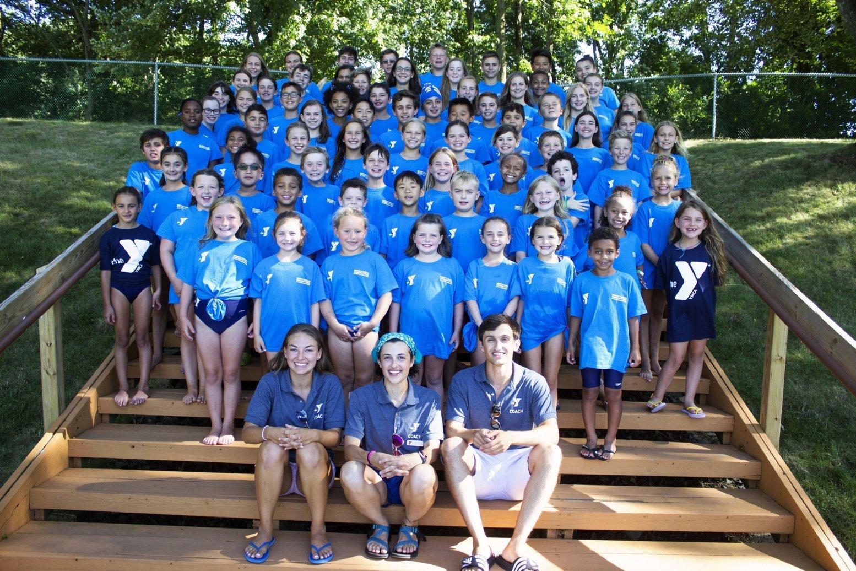 2018 BHCP Breakers Swim Team at the YMCA